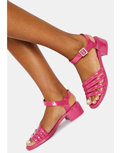 Flirty York Jelly Sandals