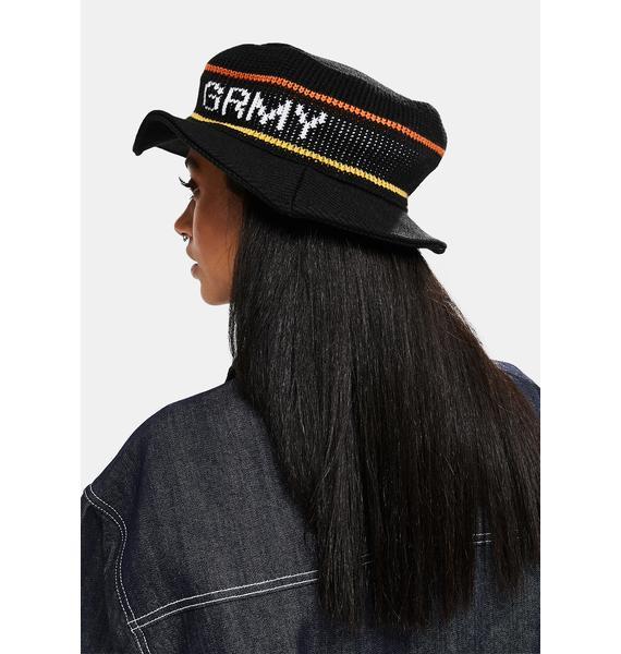 GRIMEY Nite Marauder Crushed Bucket Hat