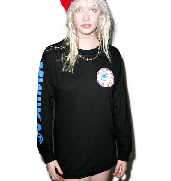 Mishka Dark Heritage Keep Watch Longsleeve Tee