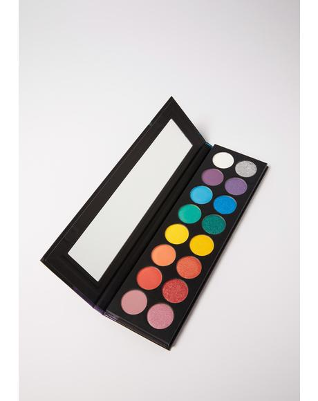 Embrace Yourself Rainbow Eyeshadow Palette