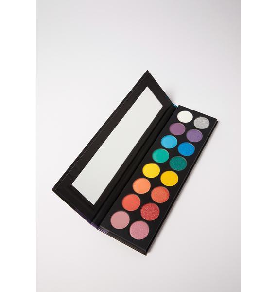 Taste Beauty Embrace Yourself Rainbow Eyeshadow Palette