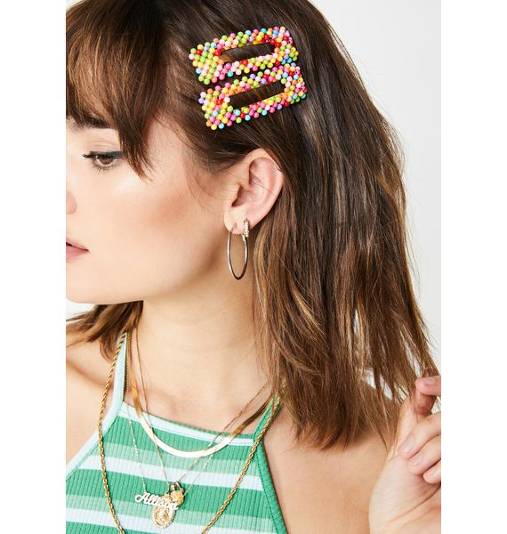 Cutie Confessions Hair Clips