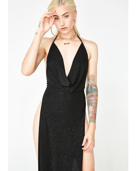 Classy Bish Slit Dress