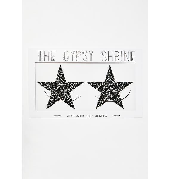 The Gypsy Shrine Sinful Stargazer Boob Jewels