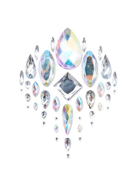 Silver Body Jewel