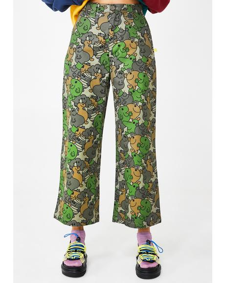 Mr Men Camo Work Pants