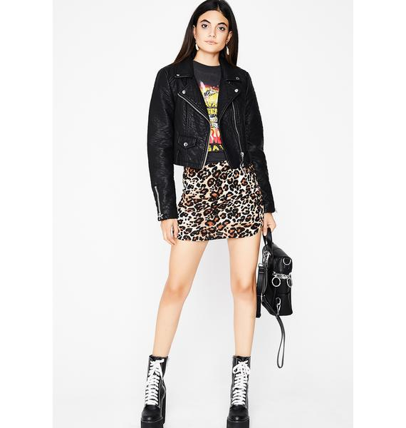 Purrfect Day Mini Skirt