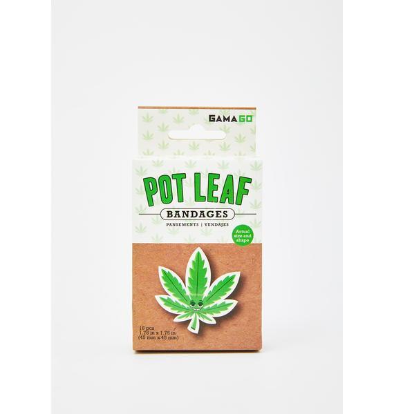 Pot Leaf Bandages