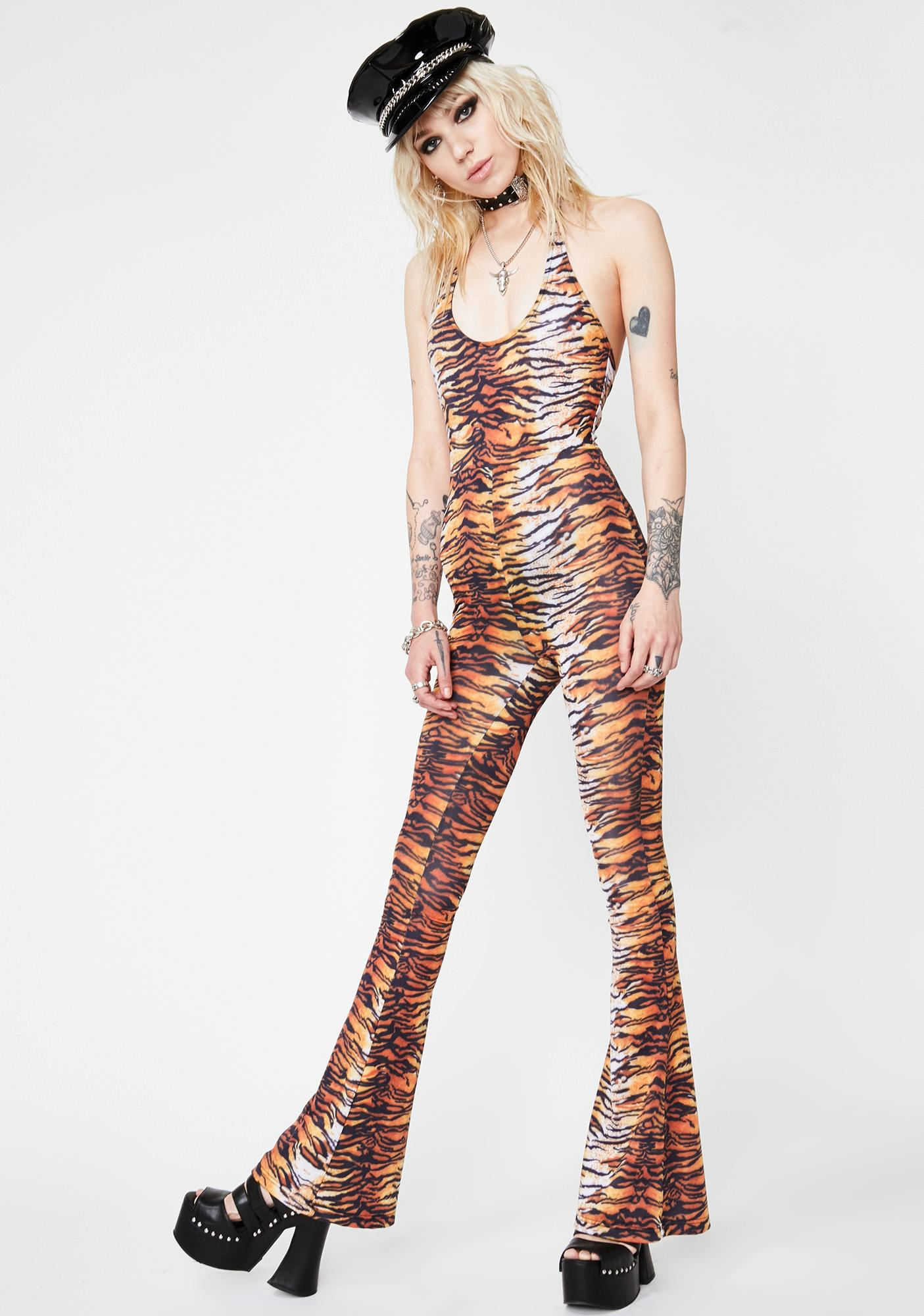 HOROSCOPEZ Lethal Weapon Tiger Jumpsuit