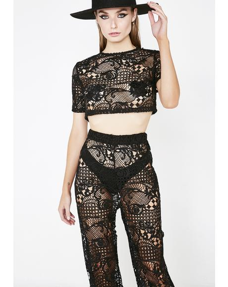 Fall Into Love Lace Set