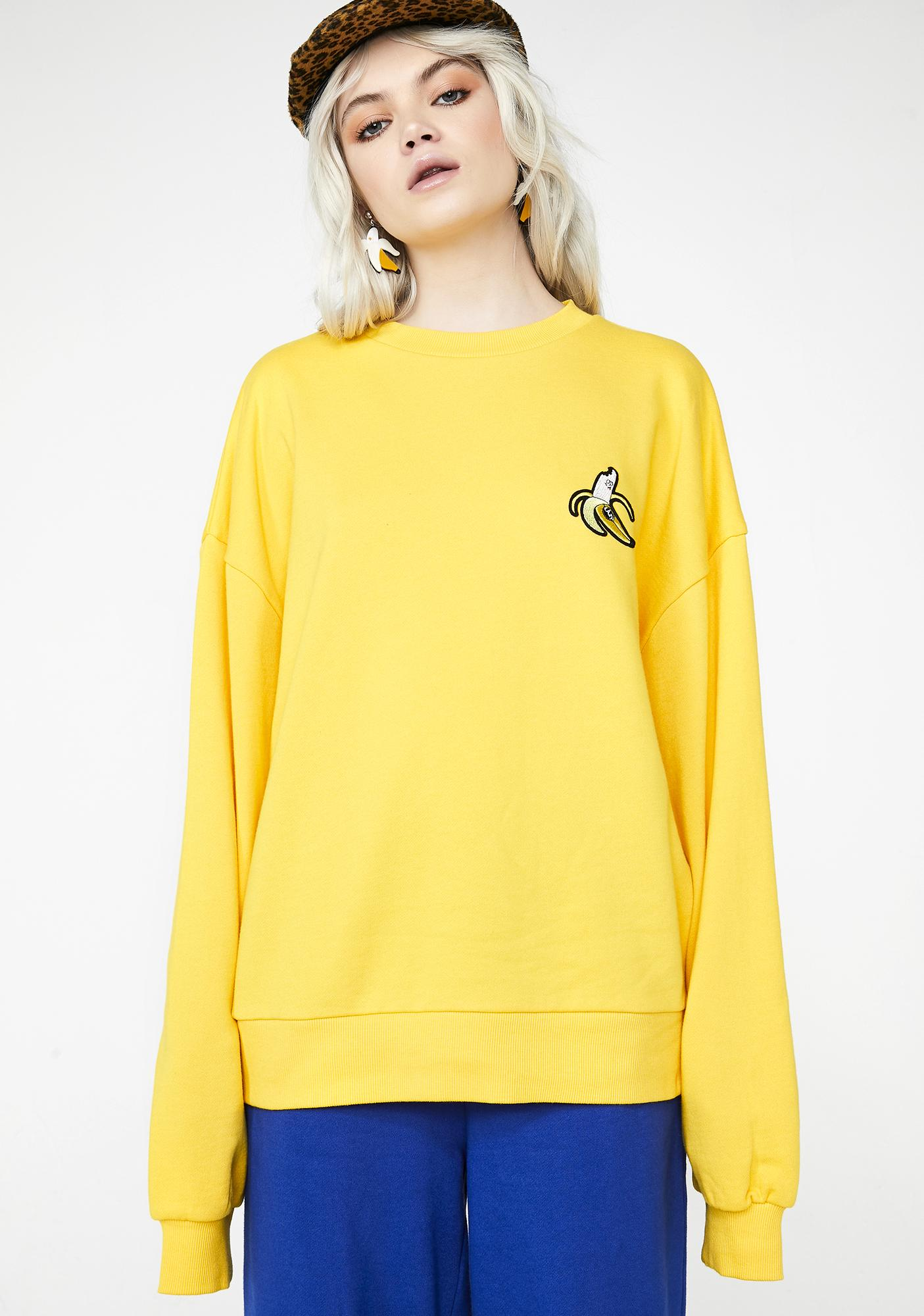 Lazy Oaf Banana Sweatshirt