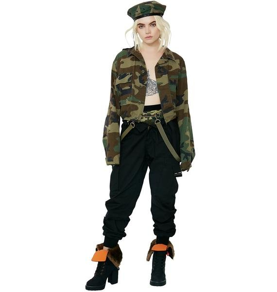 Dear Johnny Reworked Camo Jacket