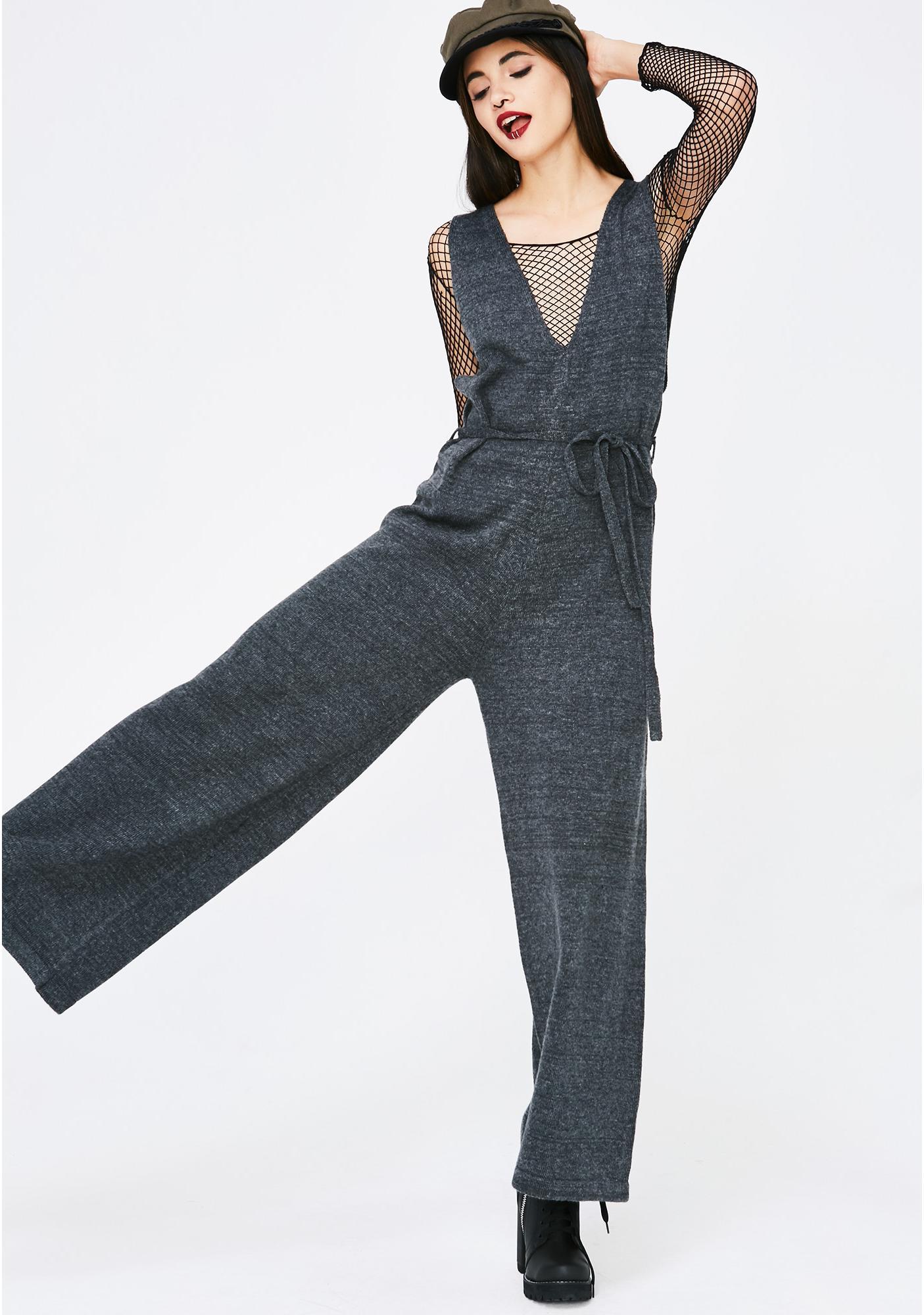 Imaginary Friend Knit Jumpsuit