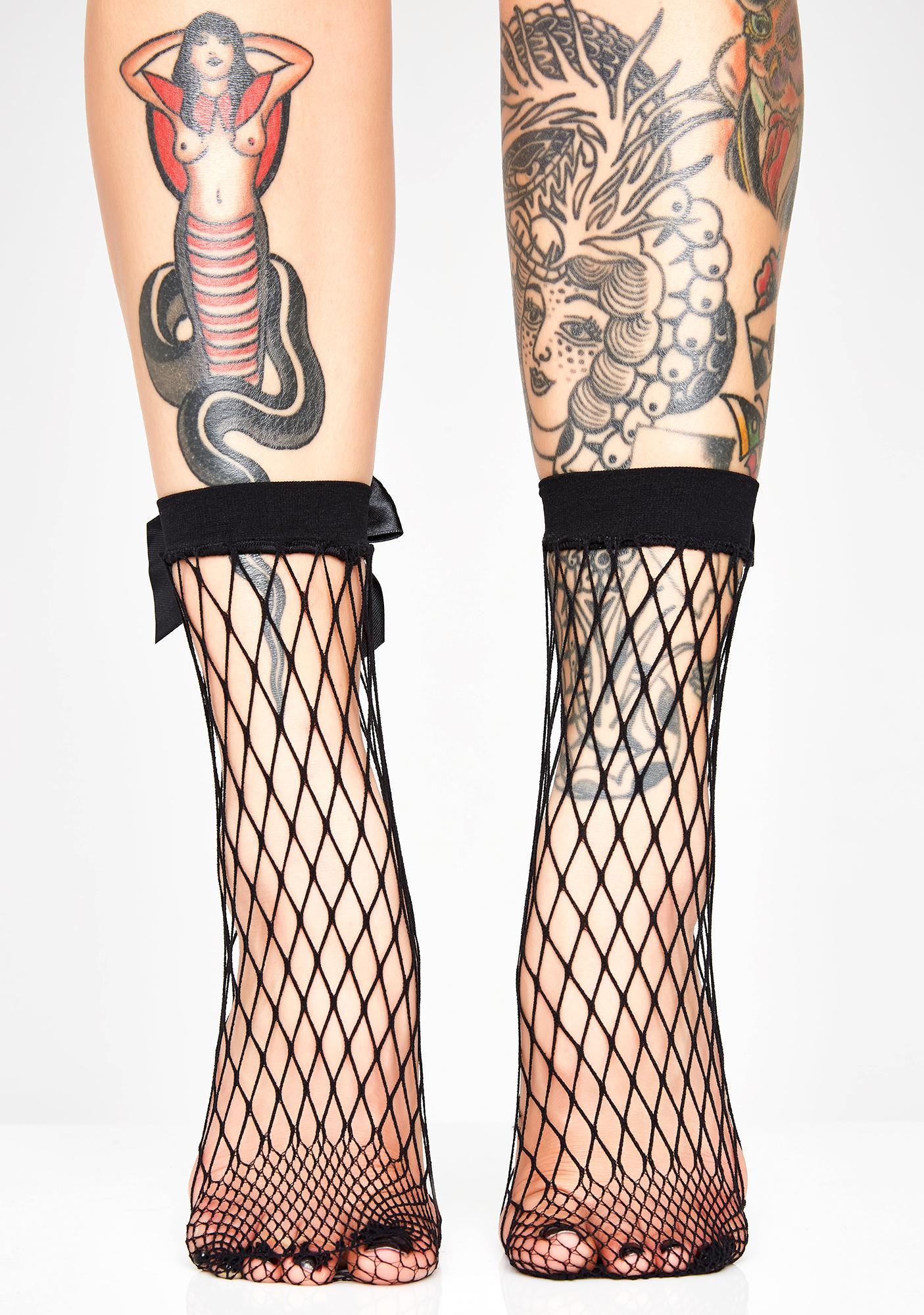 Hey Lolita Fishnet Socks