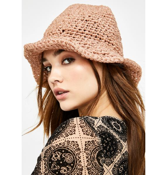Naturally Broad Horizons Crochet Bucket Hat