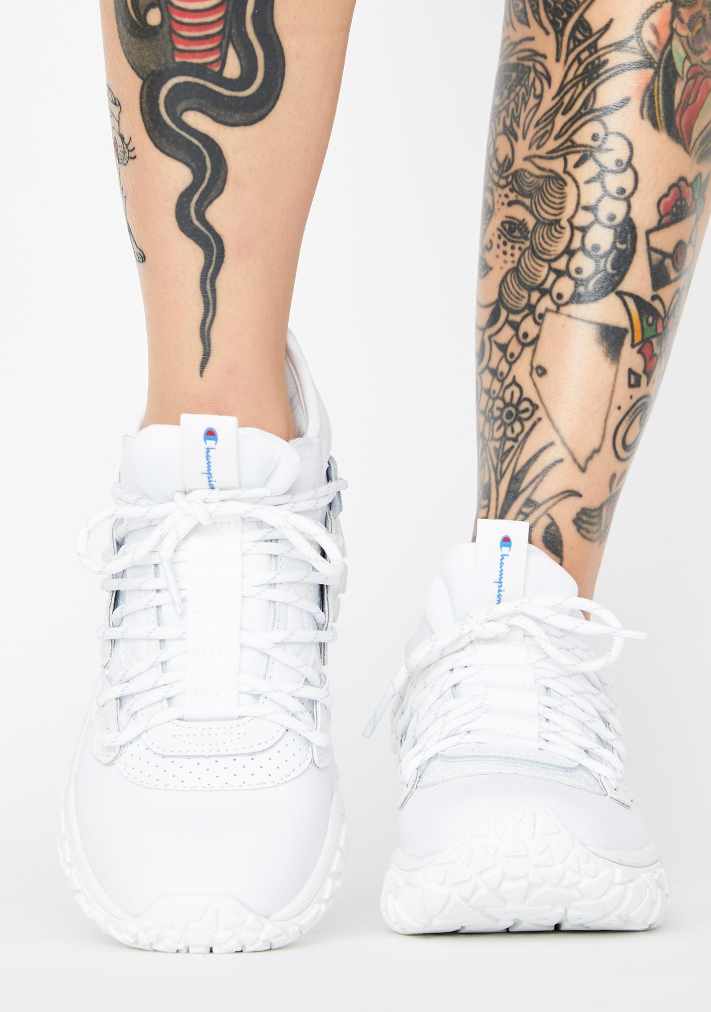Champion White Tank Classic Sneakers