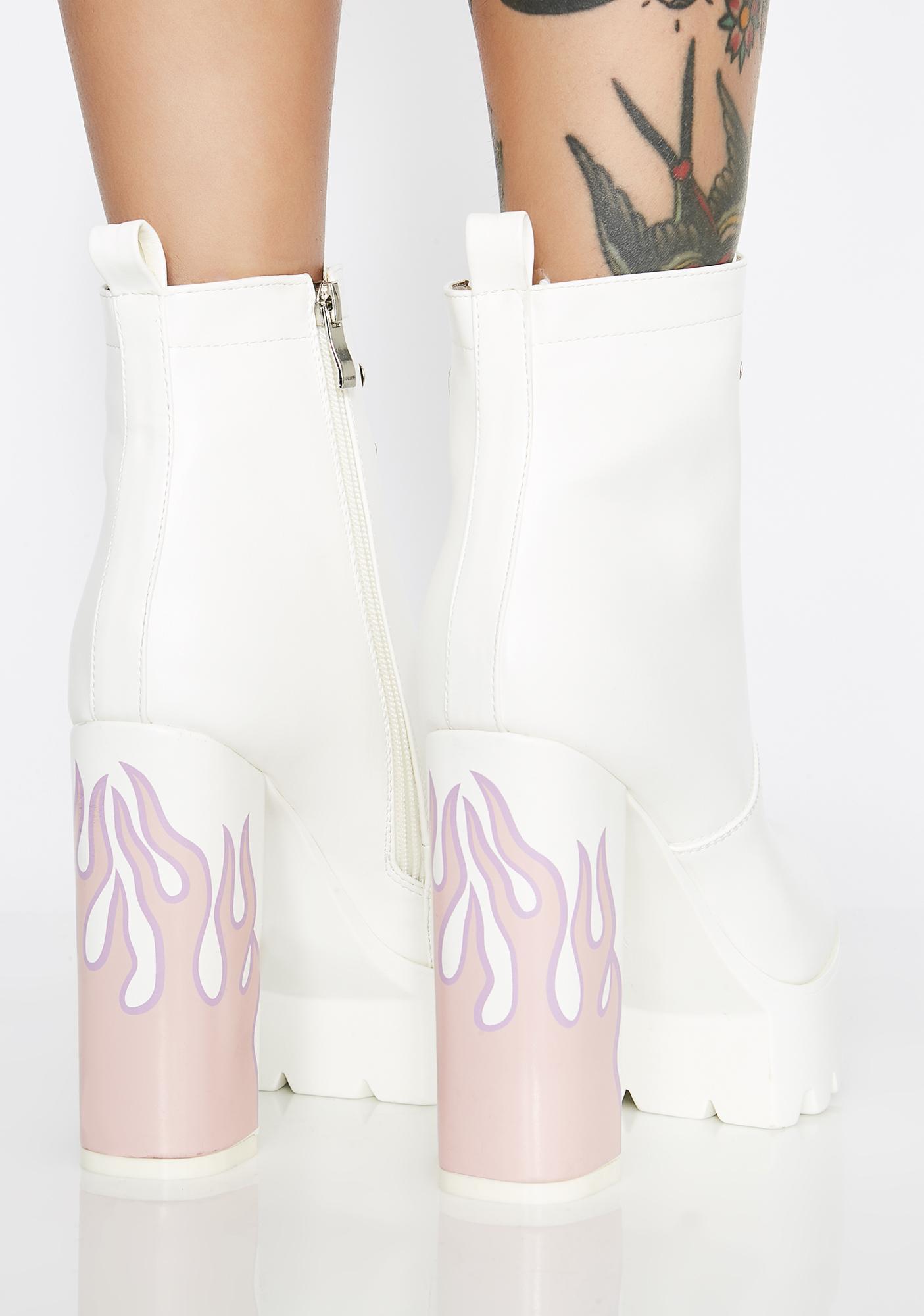 Lamoda Icy Hustler Platform Boots