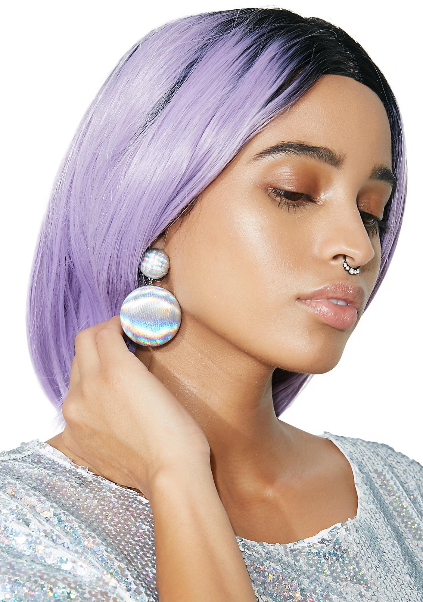 Around The World Ball Earrings