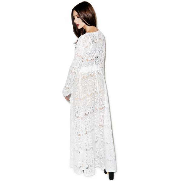 Somedays Lovin Runaway Maxi Cape Dress