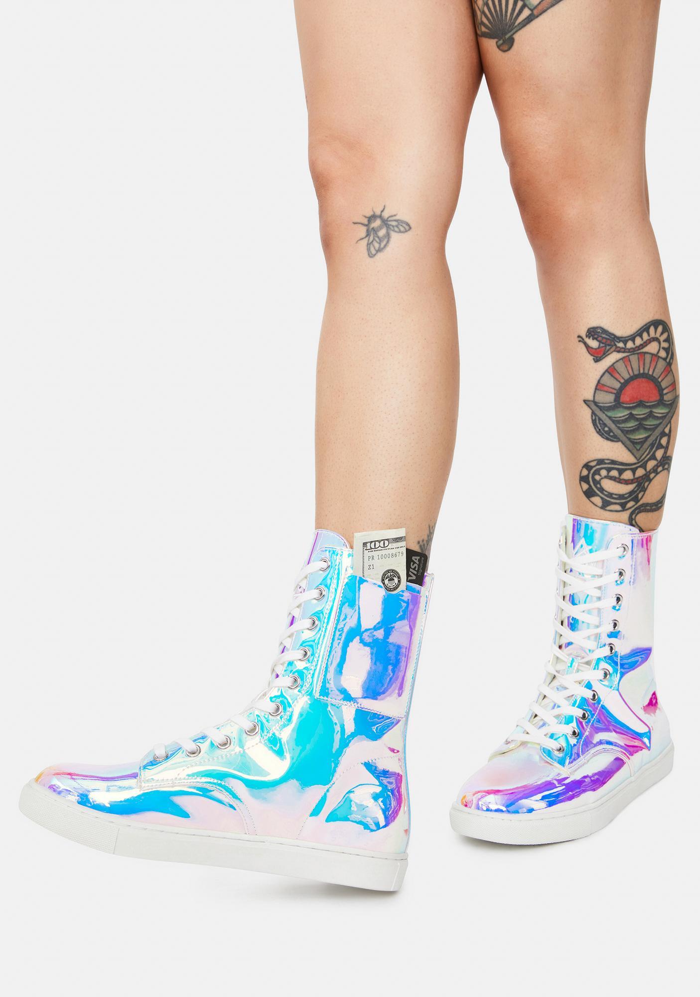 Y.R.U. CC Atlantis Lace-Up Boots