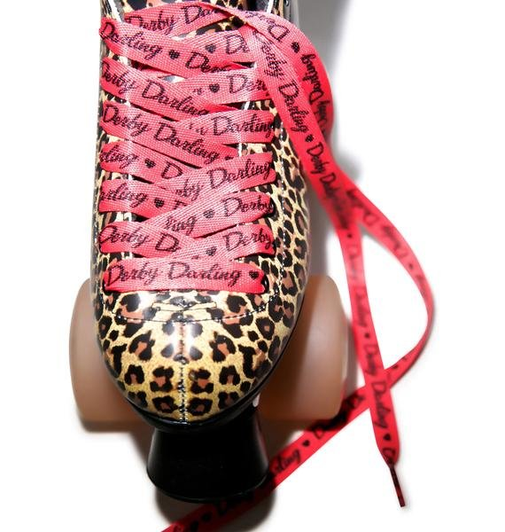 Sourpuss Clothing Derb Darling Laces