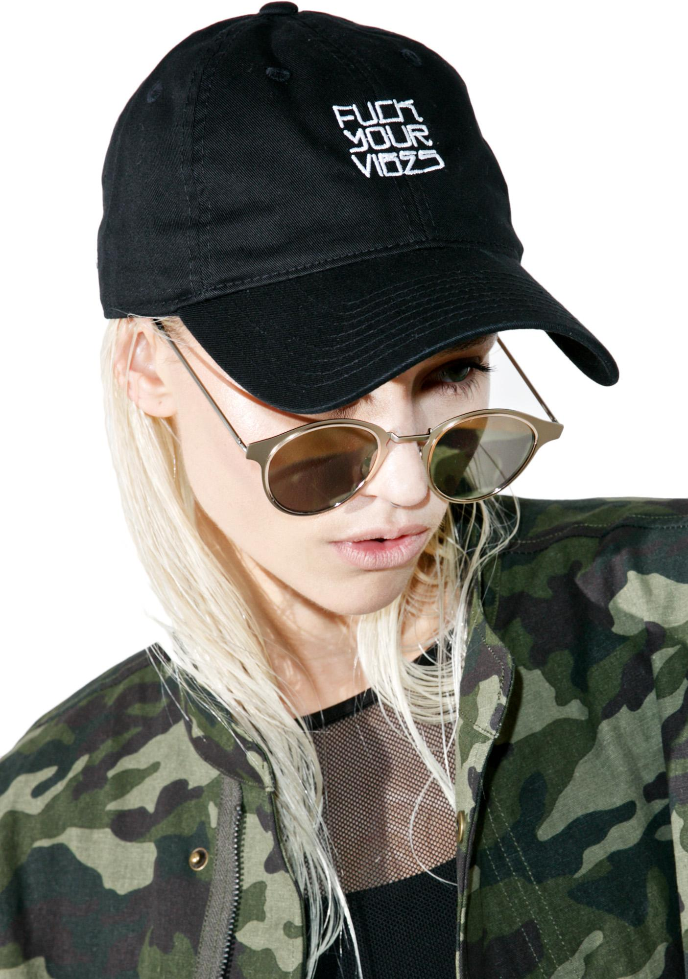 HLZBLZ Fuck Your Vibes Dad Hat