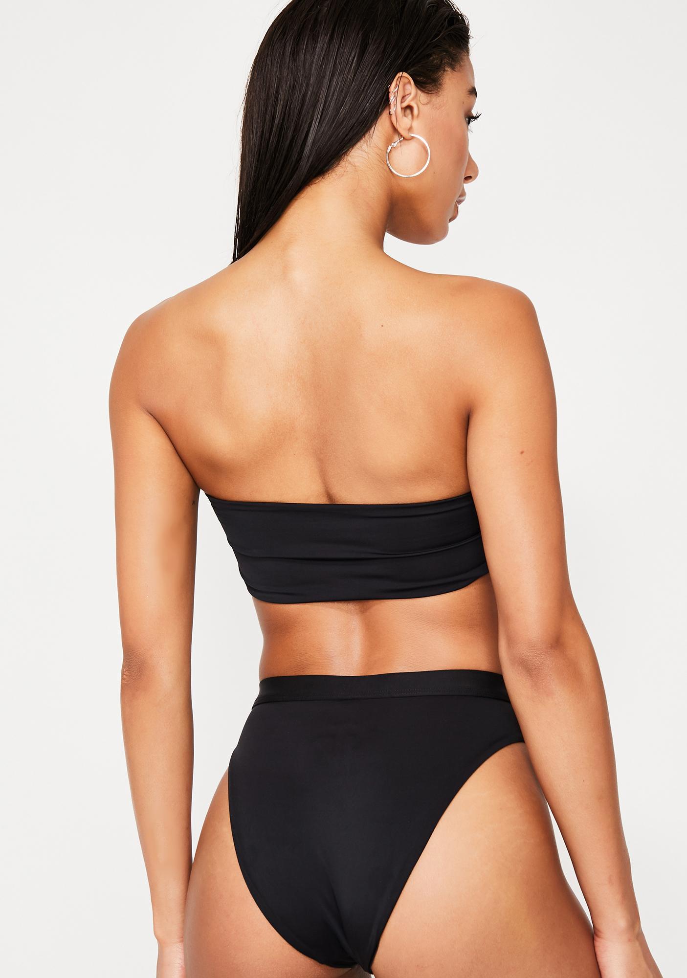 Dippin' Daisy's Seamless High Waist Bikini Bottoms