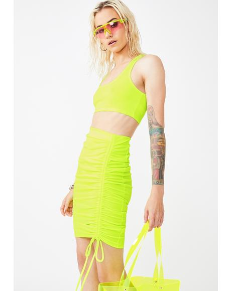 Glam Glow Skirt Set