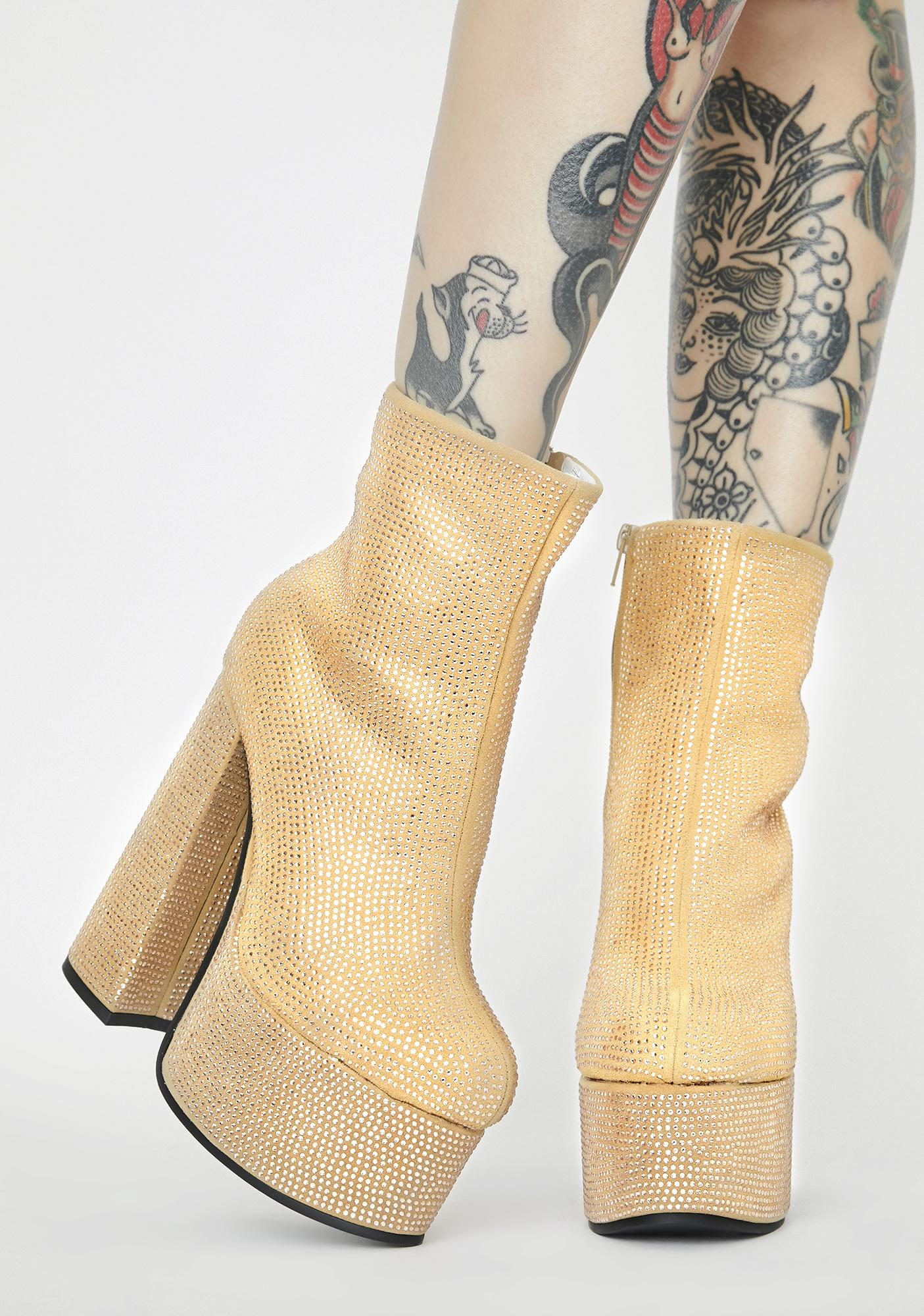 Precious Time After Time Platform Boots