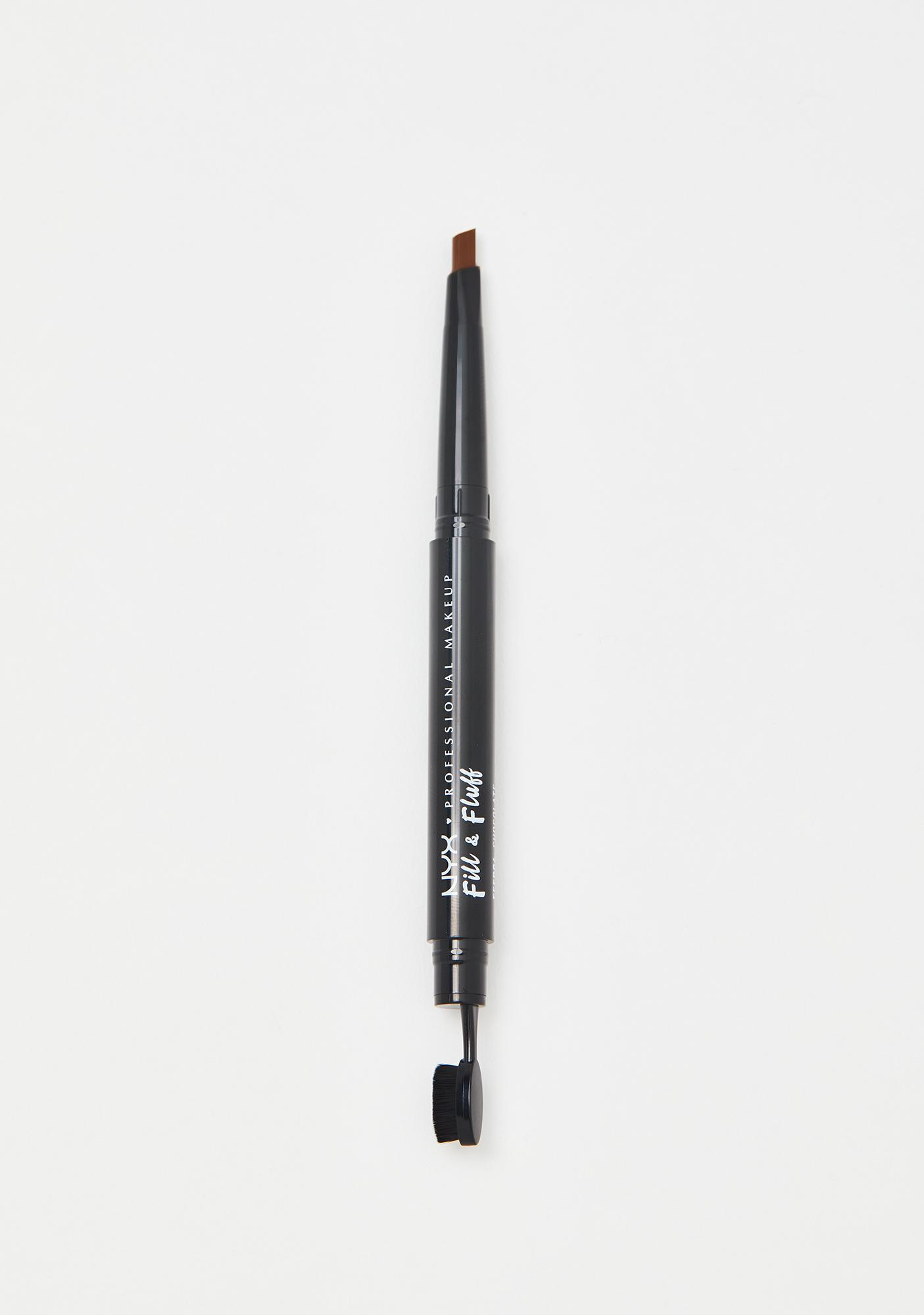 NYX Professional Makeup Chocolate Fill & Fluff Eyebrow Pomade Pencil