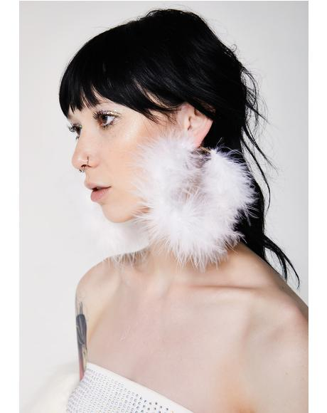Fluff My Feathers Earrings