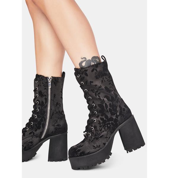 dELiA*s by Dolls Kill Teen Spirit Platform Boots