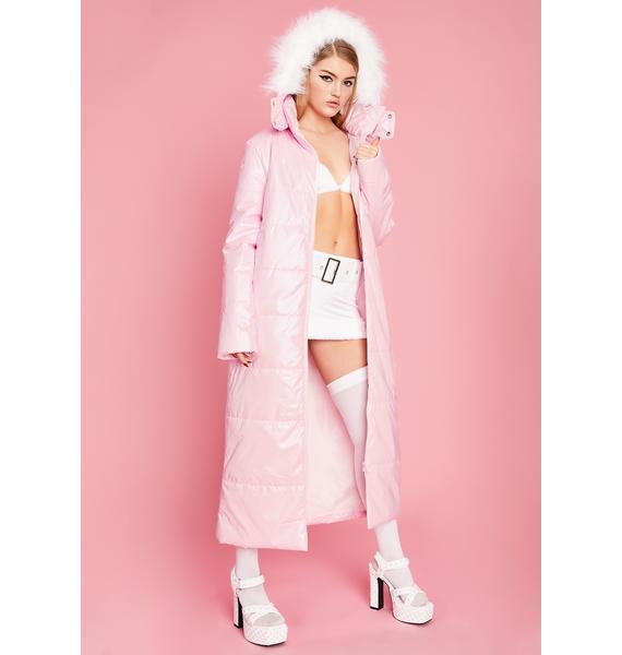 Sugar Thrillz First Class N' Chill Puffer Coat