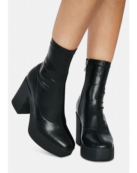 Rolly Ankle Boots