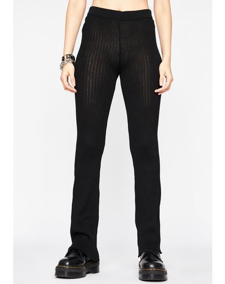 Corrupt Control Ribbed Leggings