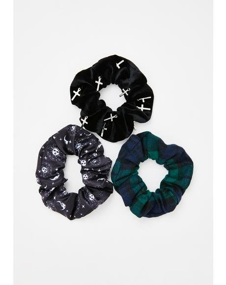 Natural Born Witch Scrunchie Set