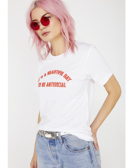 Antisocial Tee