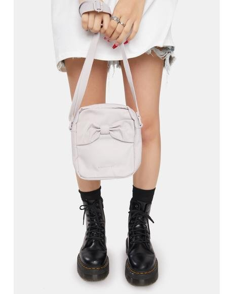 Powder Purple Ballerina Crossbody Bag