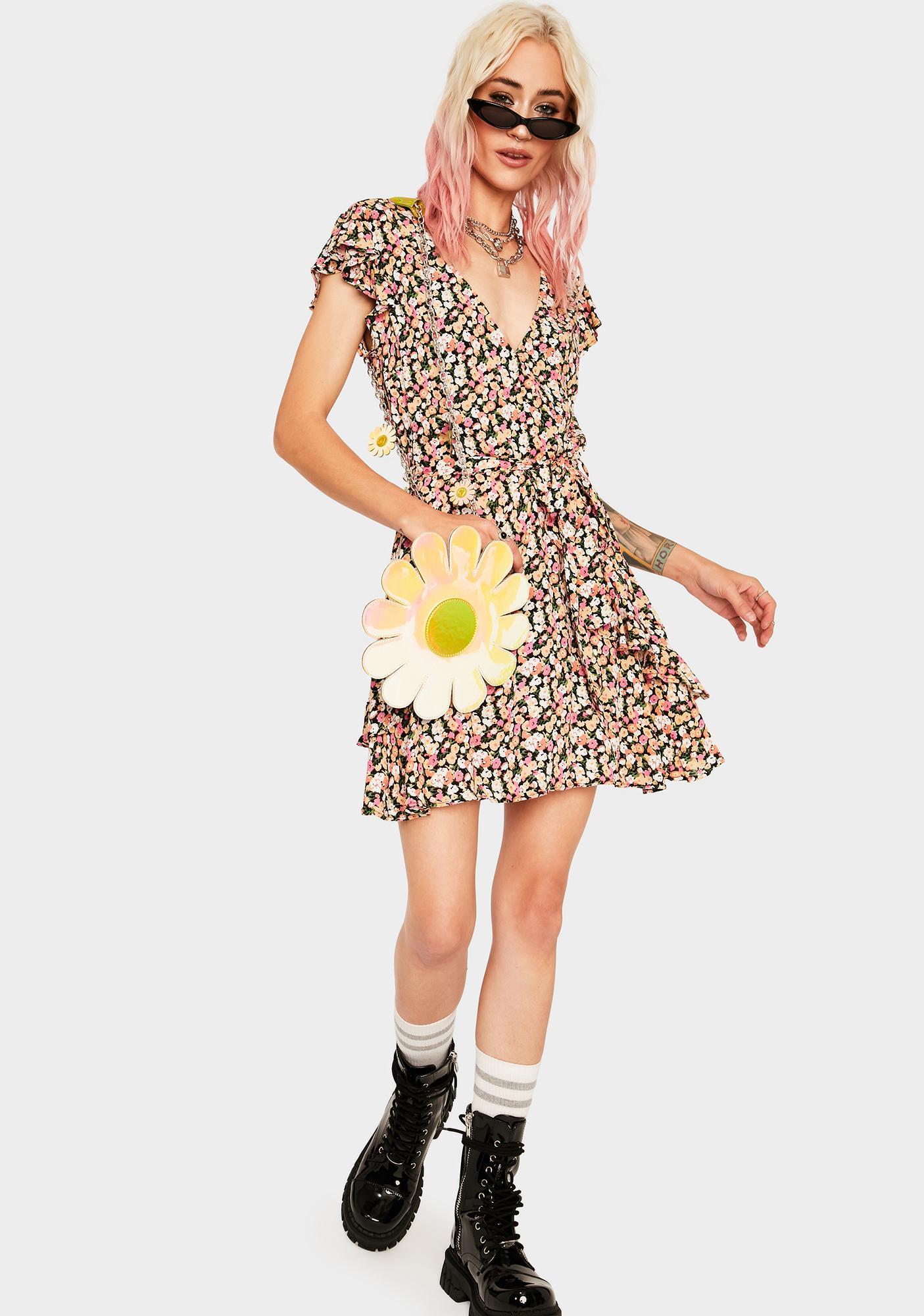 Mink Pink Good Girls Mini Dress