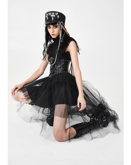 Blacknight Riddel Tulle Skirt