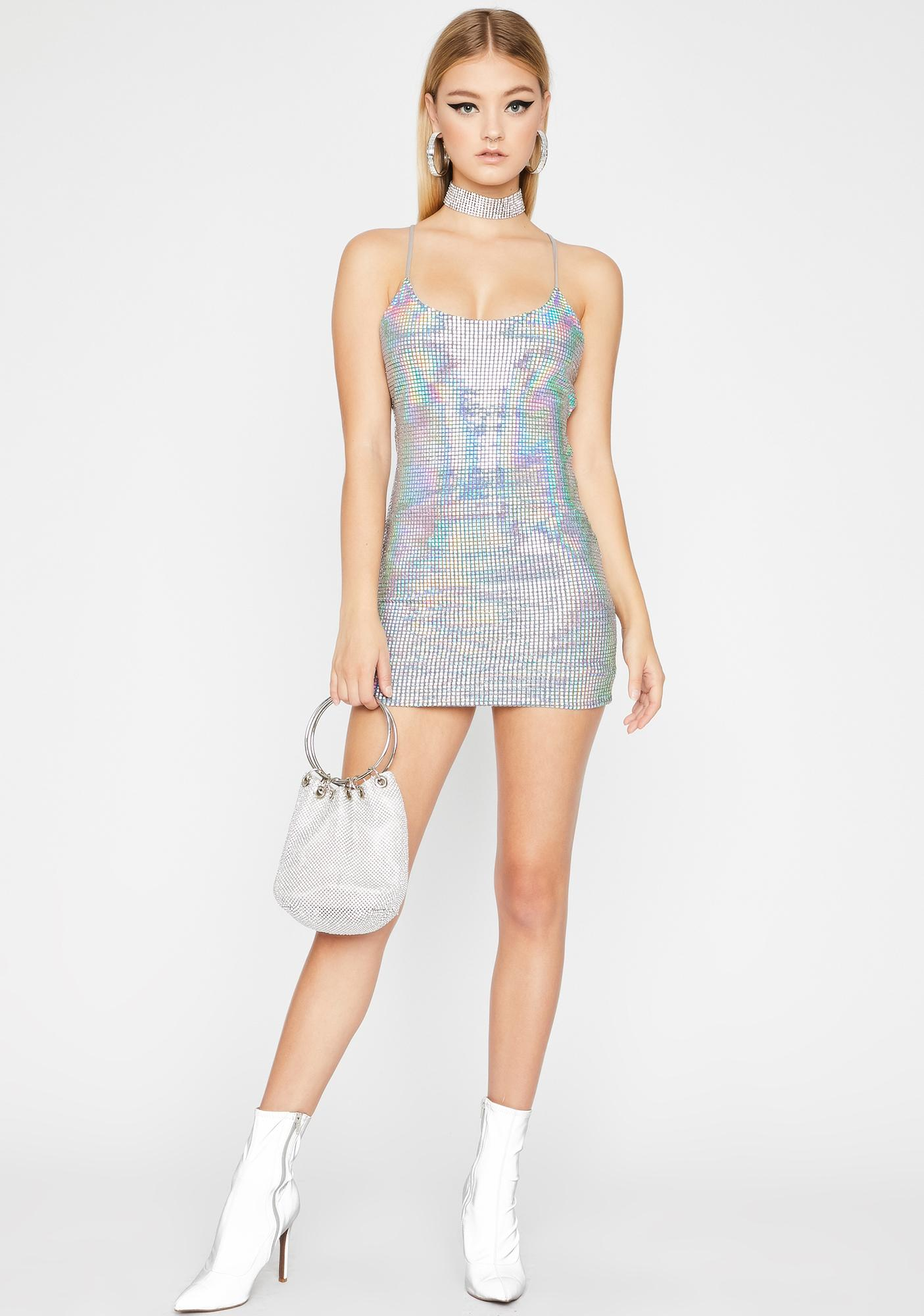 Luscious Diva Sequin Dress