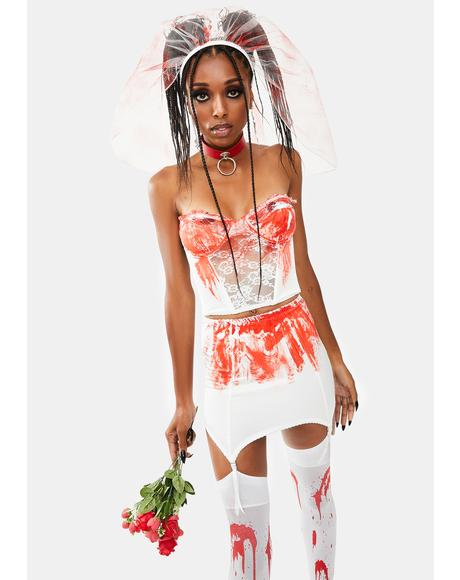 Bloody Bride Costume Set