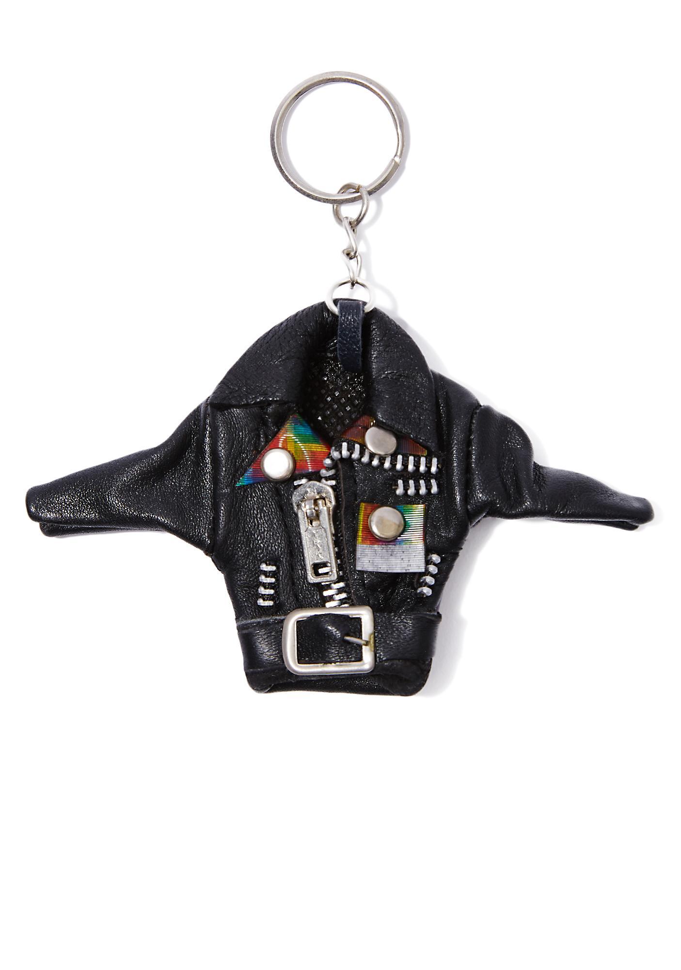 Mini Rider Moto Jacket Keychain