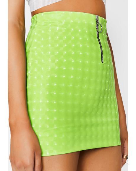 Toxic Hellish Mercy Mini Skirt