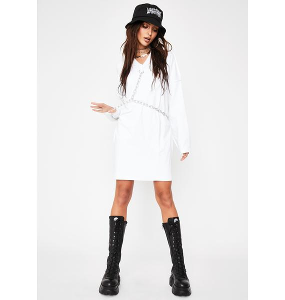The Ragged Priest Harness Chain Mini Dress