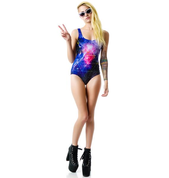 BamBam Nebula Trance Bodysuit