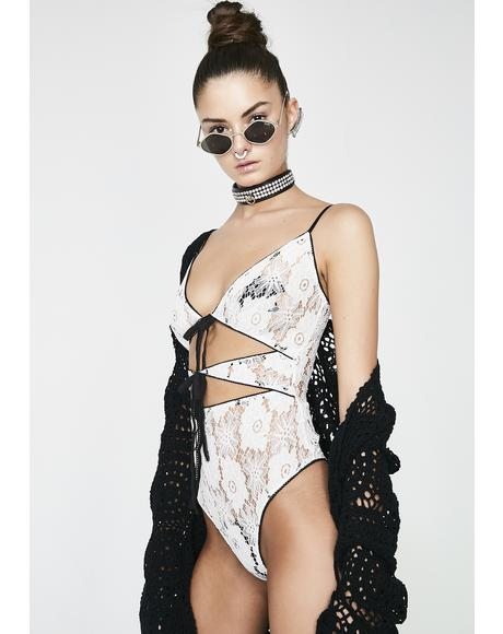 Don't Tell Lace Bodysuit