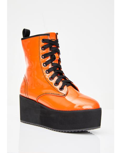 Juiced Stomp Hi Patent Boots