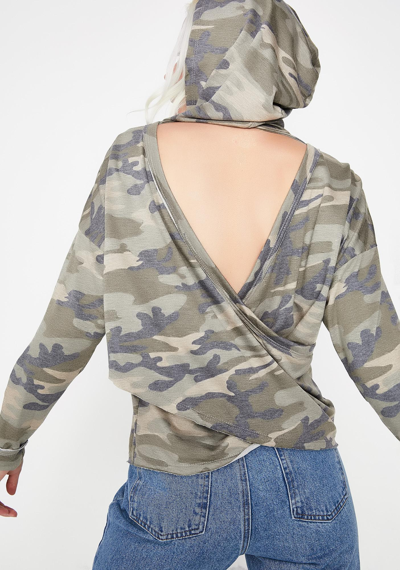 Disguise Yourself Camo Hoodie