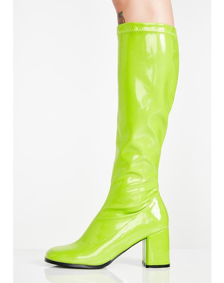 Go-Go Dancer Boots